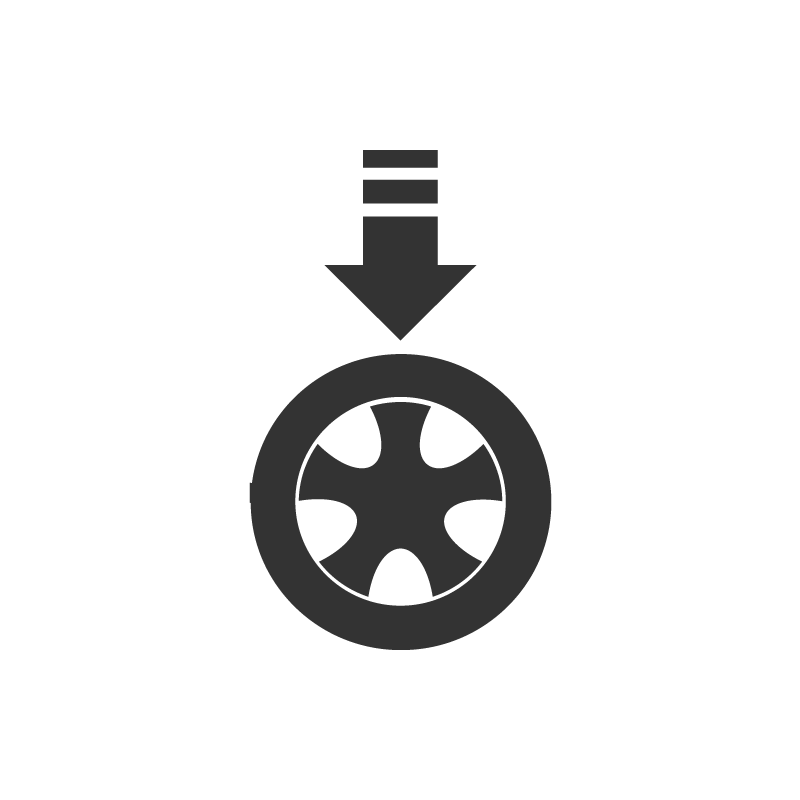 i-Ryde Icon hoher Anpressdruck